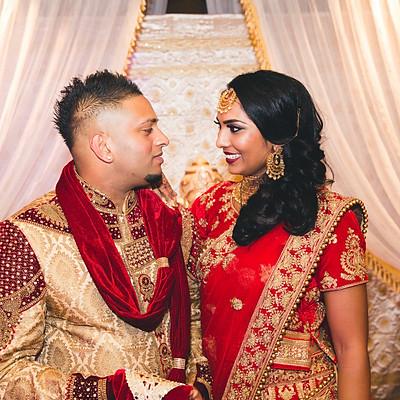 Hindu wedding: Chivanni + Ashwien