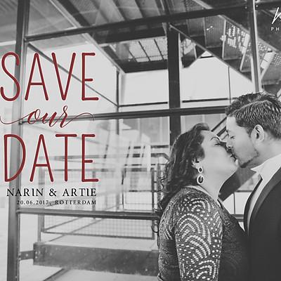 Pre-wedding: Narin + Artie