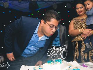 SURPRISEEEE; happy 30th birthday