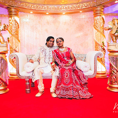 Hindu wedding: Kiran & Manisha