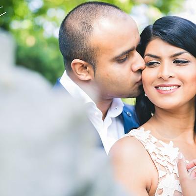 Weddingshoot: Shalini + Dhirin
