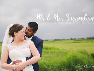 Newly weds: Ilango + Sarah