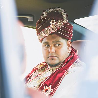 Dulha sapre (groom preparation): Rawish Chedammi
