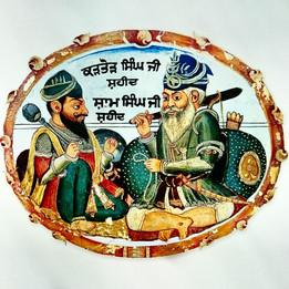 Sardar Akali Kartor Singh and Sardar Akali Shaam Singh