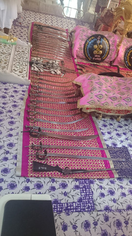Weapons from the inner sanctum of Takhat Sachkhand Sri Hazur Sahib
