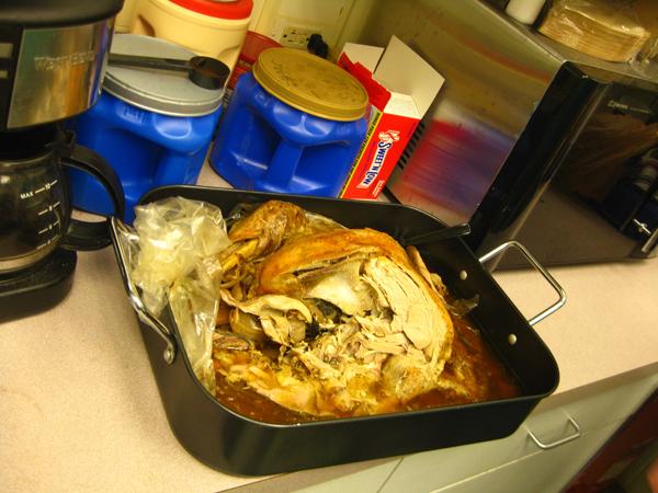potluck 2010 turkey