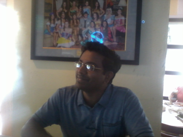 Sreenath and his halo