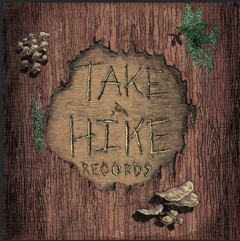"""Logo design for """"Take a Hike Records"""""""