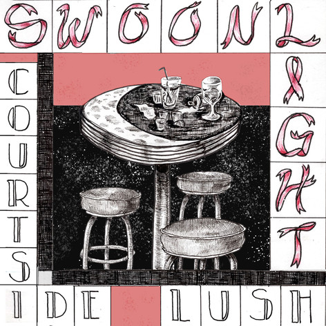 "Album cover for ""Swoonlight"" by Courtside Lush"