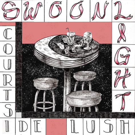 """Album cover for """"Swoonlight"""" by Courtside Lush"""