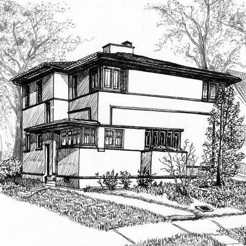 Frank Lloyd Wright Hyde House