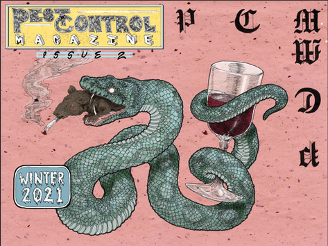 Pest Control Magazine cover submission