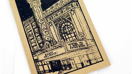 Chicago Theatre Holiday Card