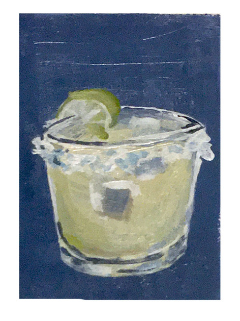 Margarita. Acrylic on paper. 2020.