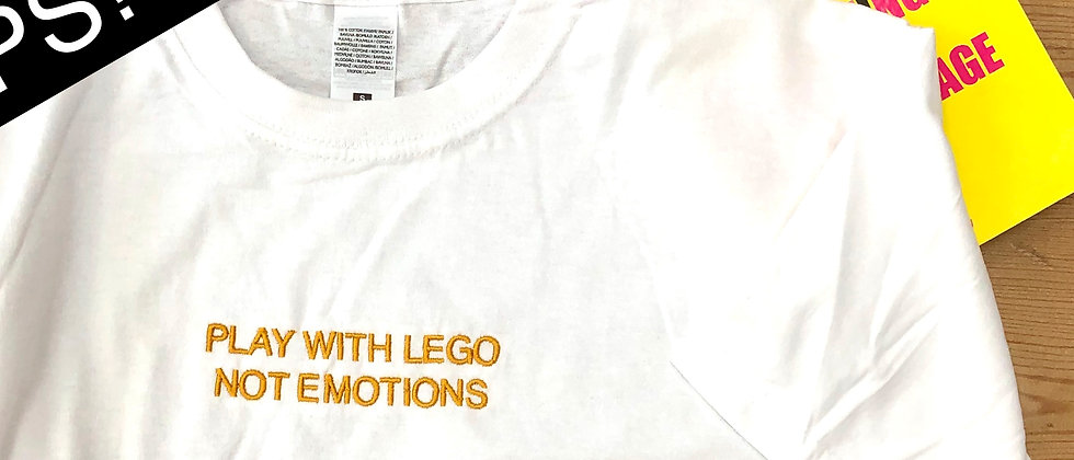 OOPS! - PLAY WITH LEGO NOT EMOTIONS (L)
