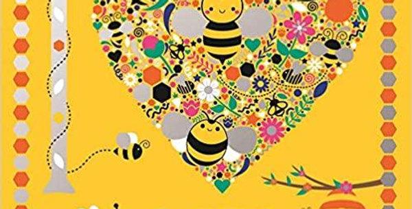 I Heart Bees (I Heart Pocket Colouring)