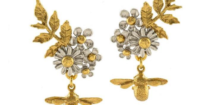 Spring Posy Cluster Earrings