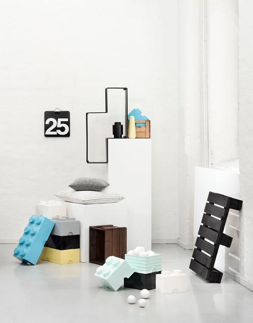LEGO® Large Storage Brick - Stone Grey | Bricks at Home | Playful ...