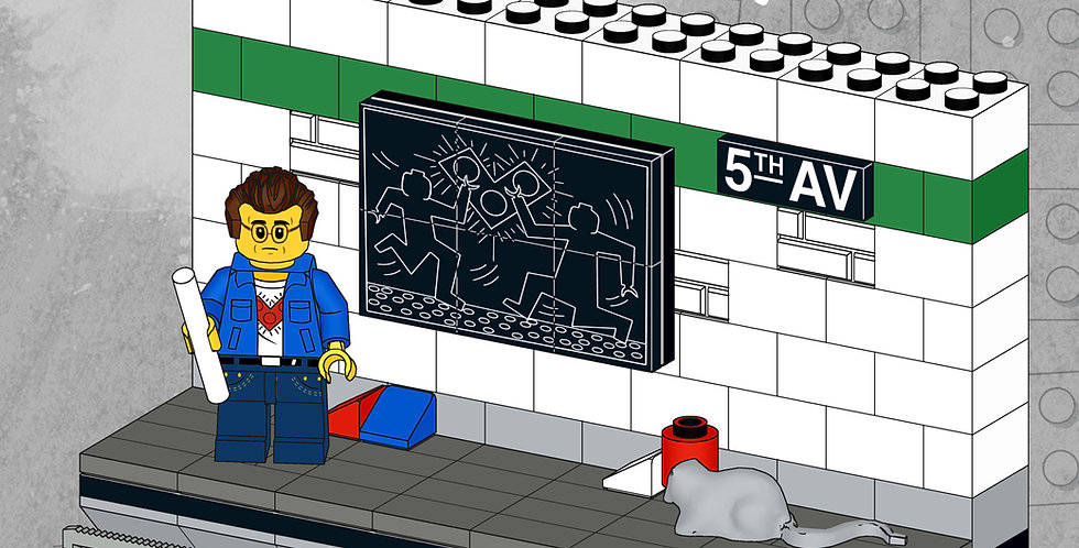 Art MOC S2: Keith Bricking