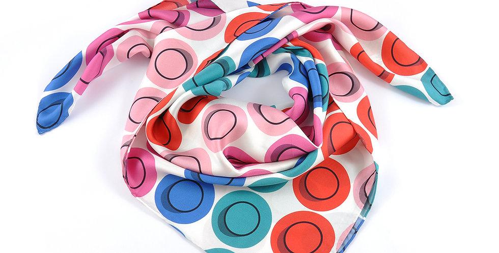 Spots - Square Silk Scarf