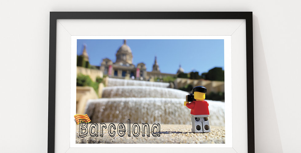 Barcelona, by The Travels of Roo