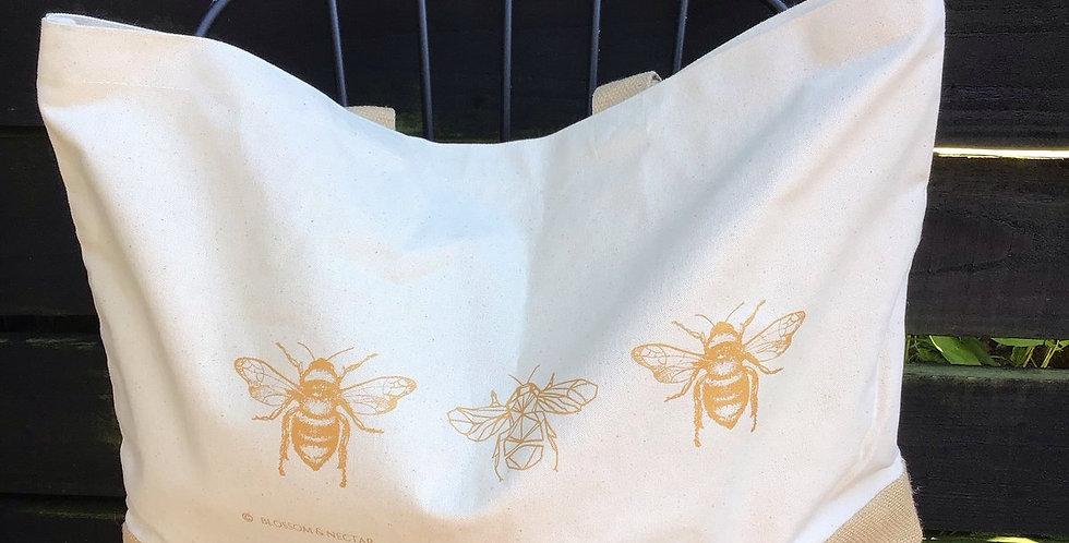 Blossom & Nectar Shopper Bag