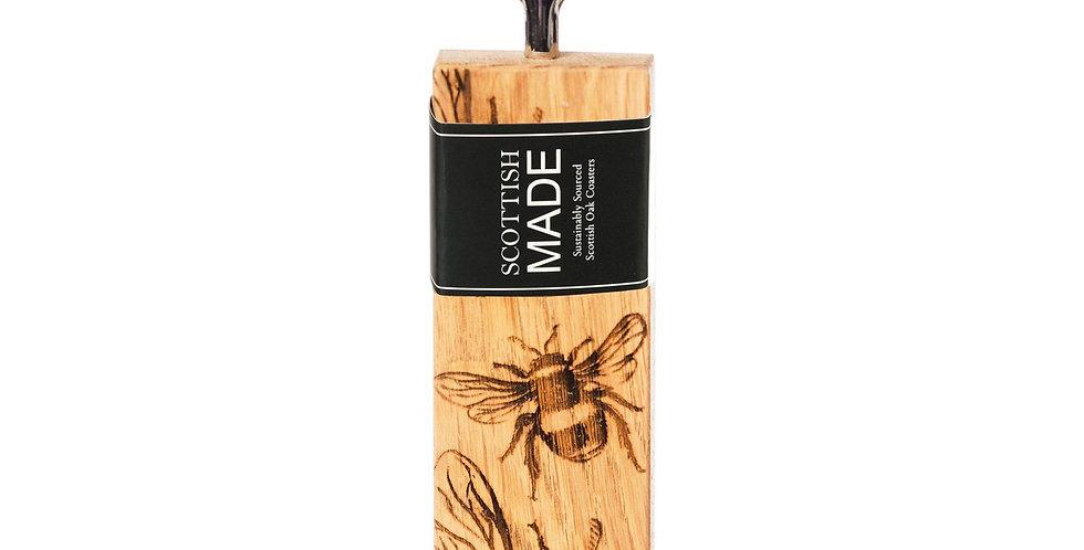 Bee Oak Bottle Opener