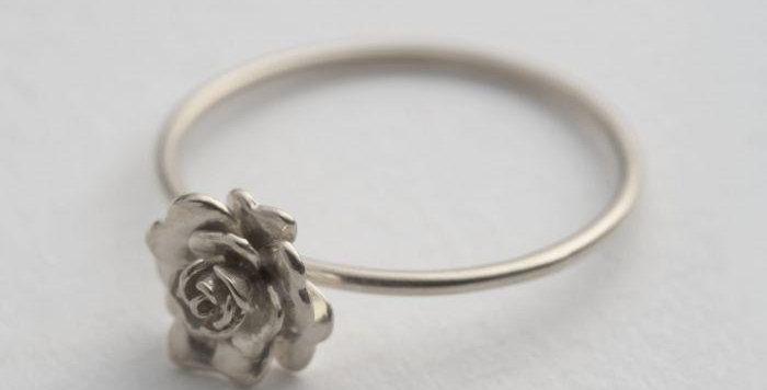 Alex Monroe - Rosa Damasca Ring