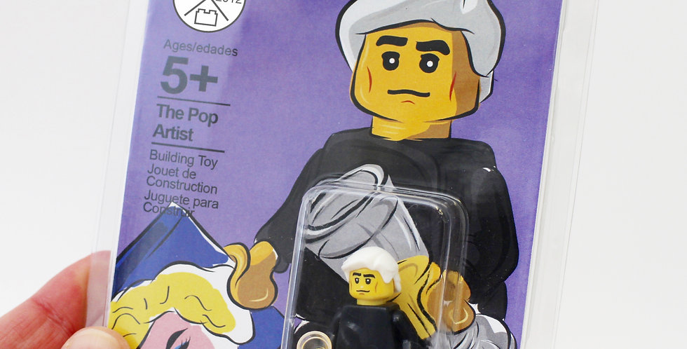 The Pop Artist Minifigure