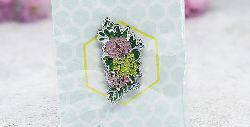 Blossom Bee Pin