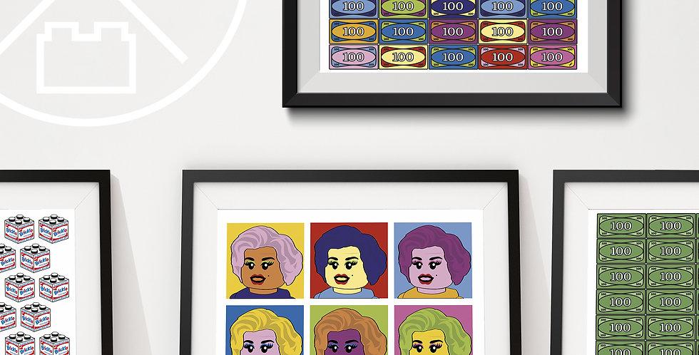 A3 Art Prints (6 Styles)