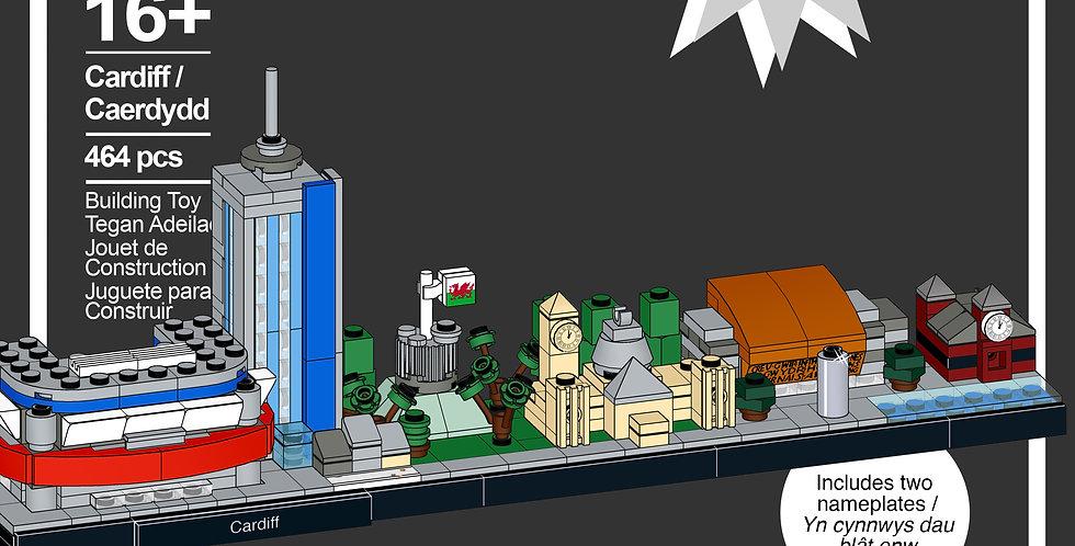Cardiff Skyline Model *PRE-ORDER*