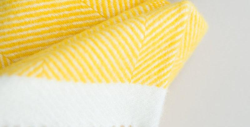 Herringbone Wool Blanket by Atlantic Blankets