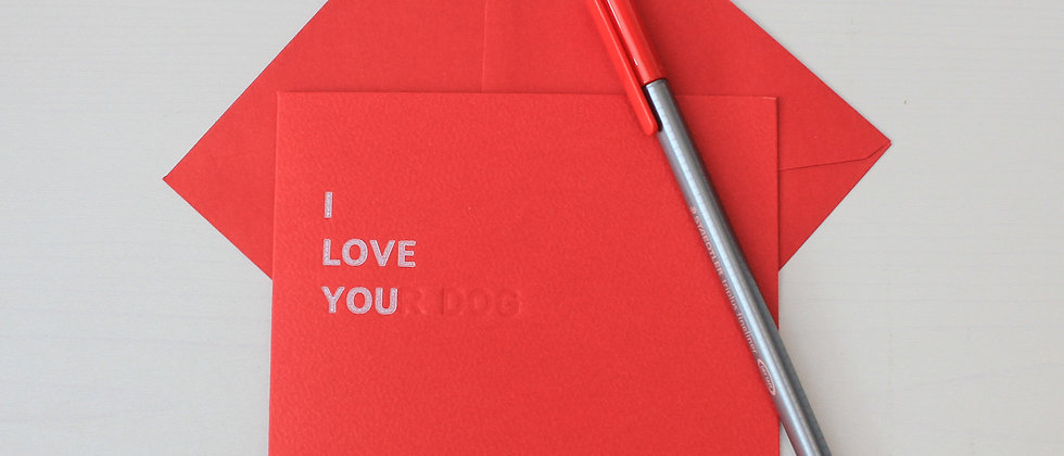 I LOVE YOU(R)...