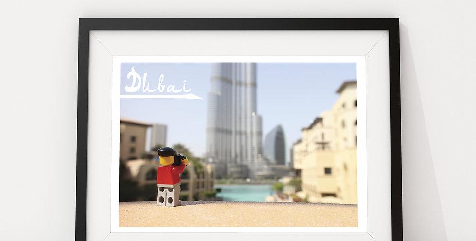 Dubai (Burj Khalifa), by The Travels of Roo