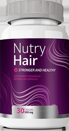 Nutry Hair - Vitamina para os Cabelos