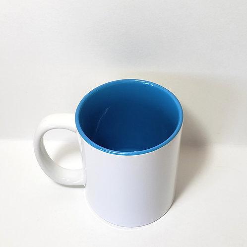 Blue 11 oz Mug Single Front Image