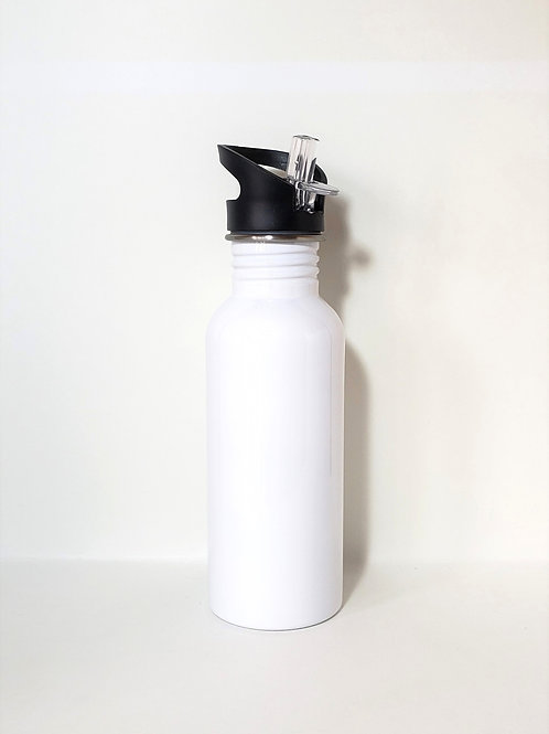 White Water Bottle Single Front Image