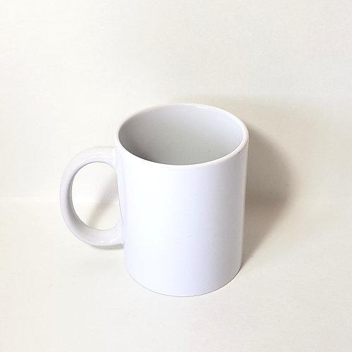 White 11 oz Mug Single Front Image
