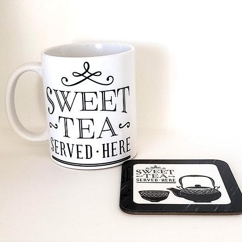 Sweet Tea Mug & Coaster Set