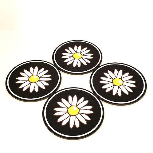 Daisy Coaster Set/4