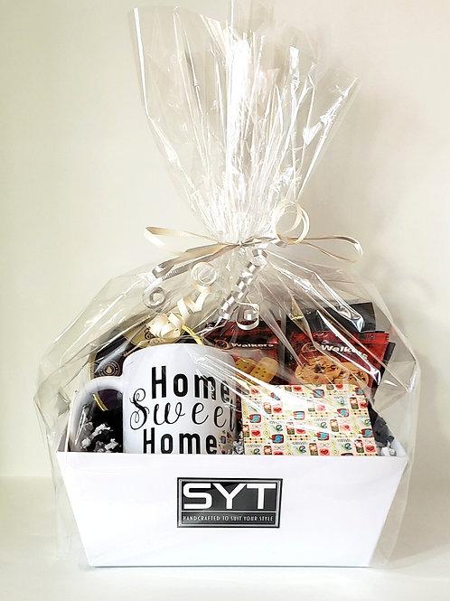 Large Gift Basket Set Home Sweet Home Mug & Coaster Set