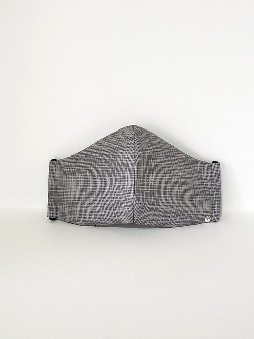 Business Mask  Grey.  Includes Polypropylene  Insert.