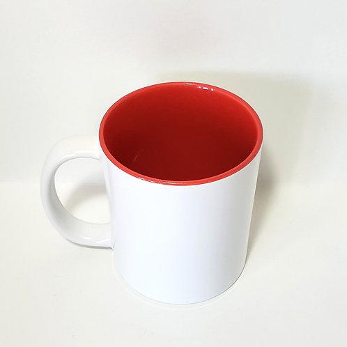 Red 11 oz Mug Single Front Image