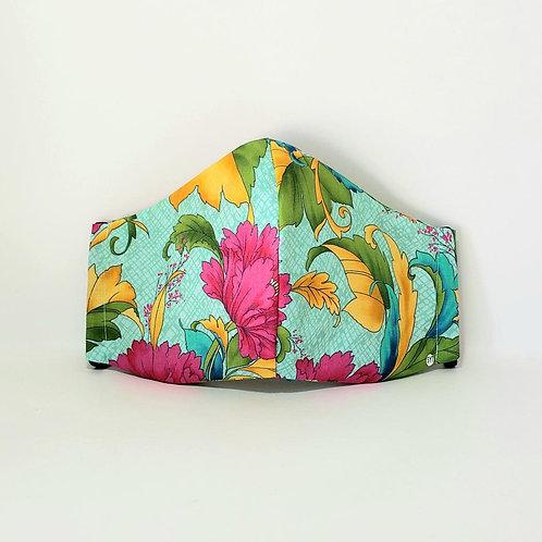 Floral Mask.  Includes Polypropylene Insert.