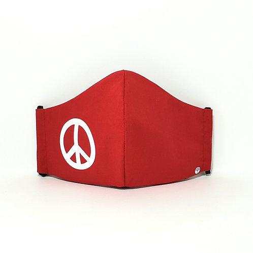 Peace Mask.  Includes Polypropylene Insert.