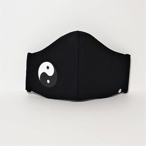 Yin Yang Symbol Mask.  Includes Polypropylene  Insert.