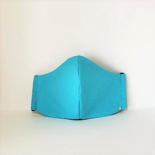 Ocean Blue Mask.  Includes Polypropylene Insert.