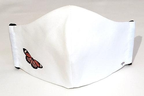 Monarch Mask.  Includes Polypropylene Insert.