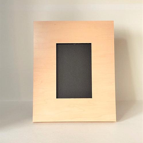 Maple Photo Frame Custom Printed